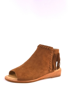 Shoptiques Product: Suede Fringe Shooties