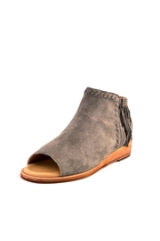 Gee Wawa Suede Fringe Shooties - Front cropped