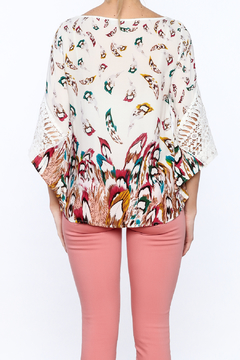 GeeGee Bohemian Floral Blouse - Alternate List Image