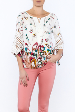 GeeGee Bohemian Floral Blouse - Product List Image