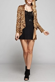 GeeGee Leopard Print Cardigan - Product Mini Image