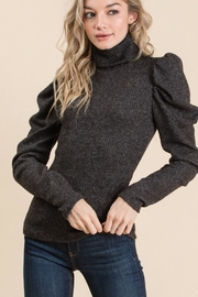 GeeGee Ribbed Puff Sweater - Product Mini Image