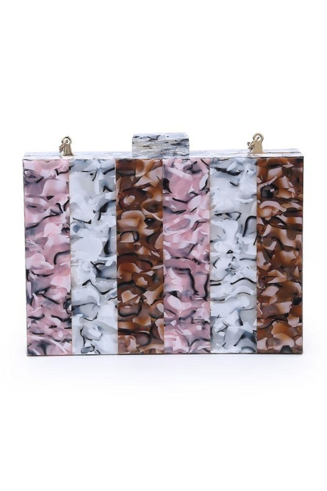 Urban Expressions Gelati Clutch - Front Cropped Image