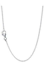 Gem Factor 23mm Monogram Necklace - Front full body
