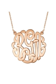 Gem Factor 43mm Monogram Necklace - Product Mini Image