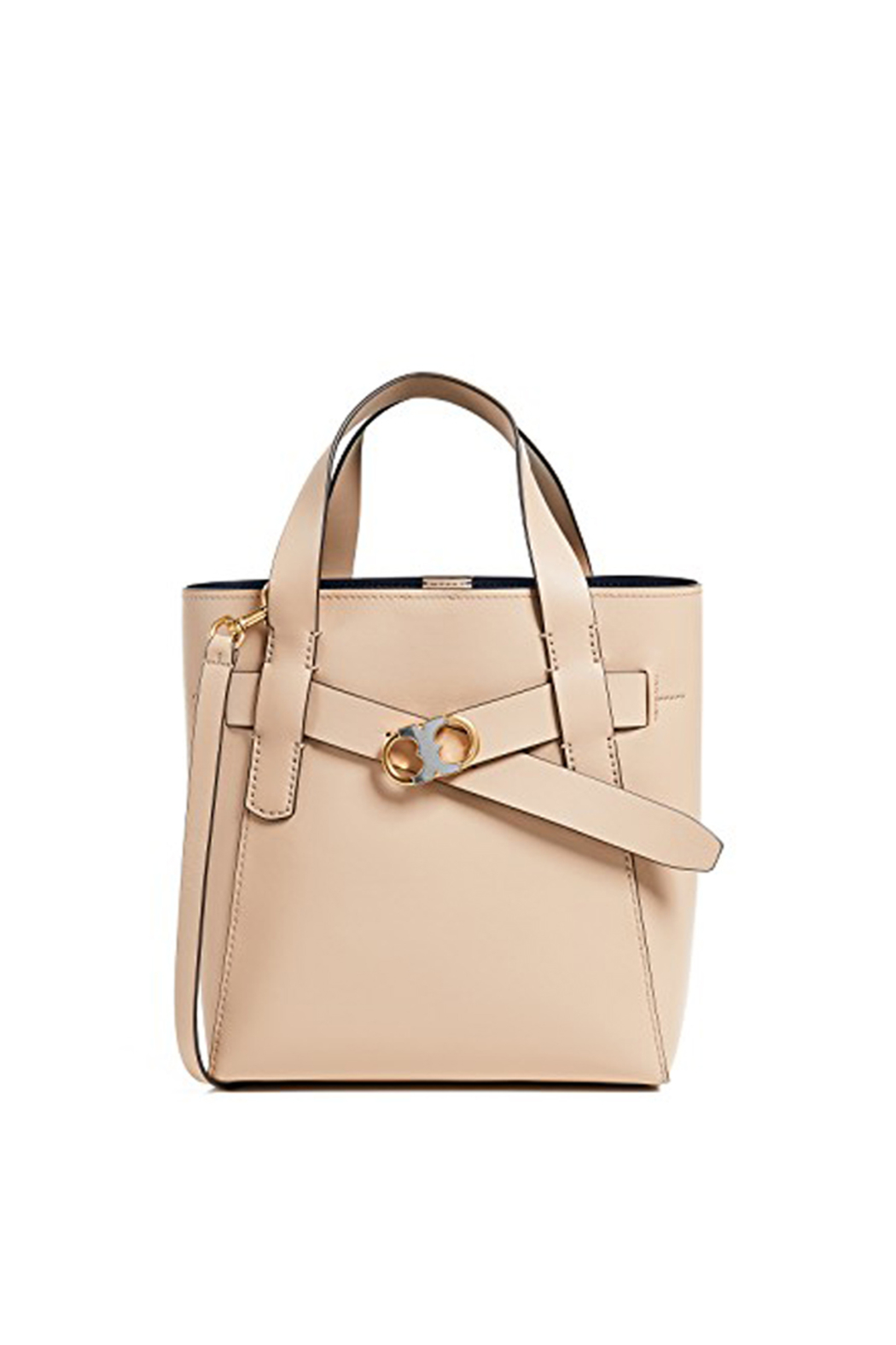 38b4b5acfec Tory Burch Gemini Link Leather Small Tote from Lafayette by Kiki ...