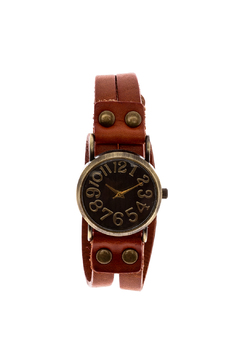 Gemini Mermaids Leather Wrap Watch - Product List Image