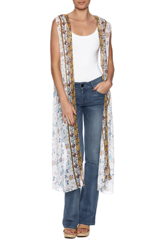 Gemini Mermaids Maxi Vest Duster - Product List Image