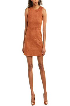 Bishop + Young Gemma Faux Suede Sleeveless Sheath Dress - Alternate List Image