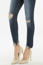 Kan Can GEMMA HIGH RISE DARK WASH - Side cropped