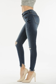 Kan Can GEMMA HIGH RISE DARK WASH - Front full body