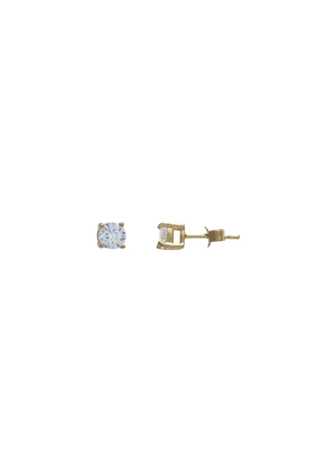 Gemma Collection 5mm Solitaire Studs - Main Image
