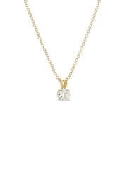 Gemma Collection Solitaire Necklace - Product Mini Image