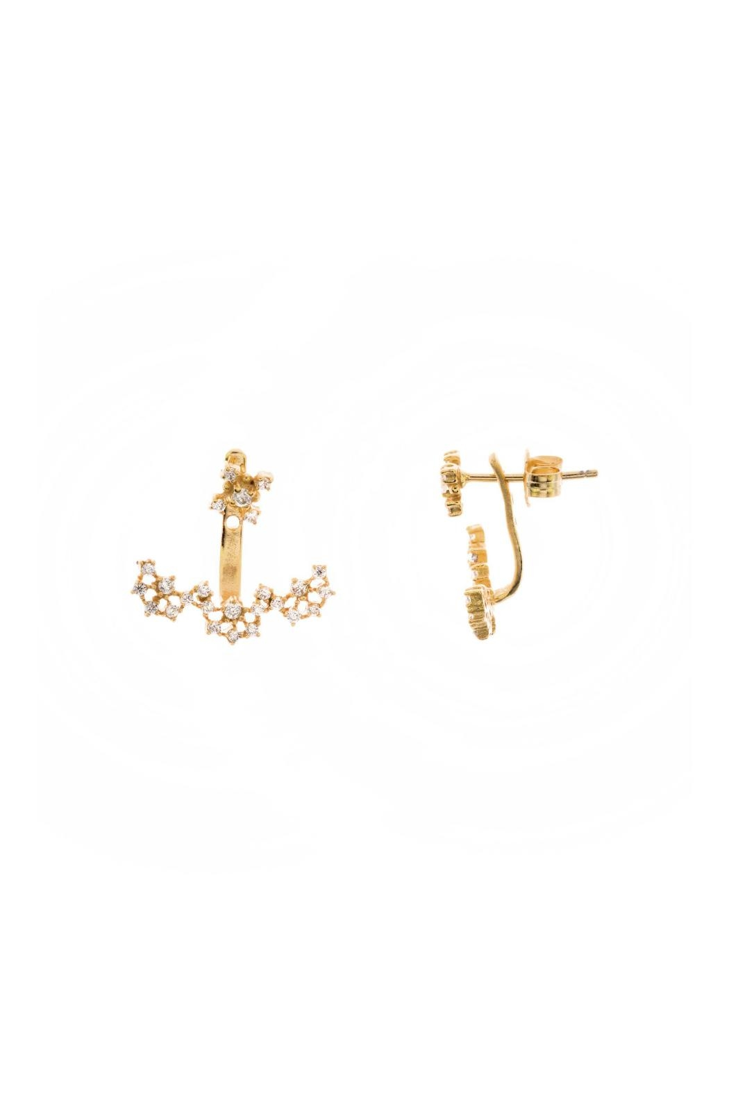 Gemma Collection Accented Ear Jackets - Main Image