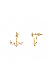 Gemma Collection Accented Ear Jackets - Front cropped