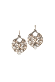 Gemma Collection Accented Statement Earrings - Product Mini Image