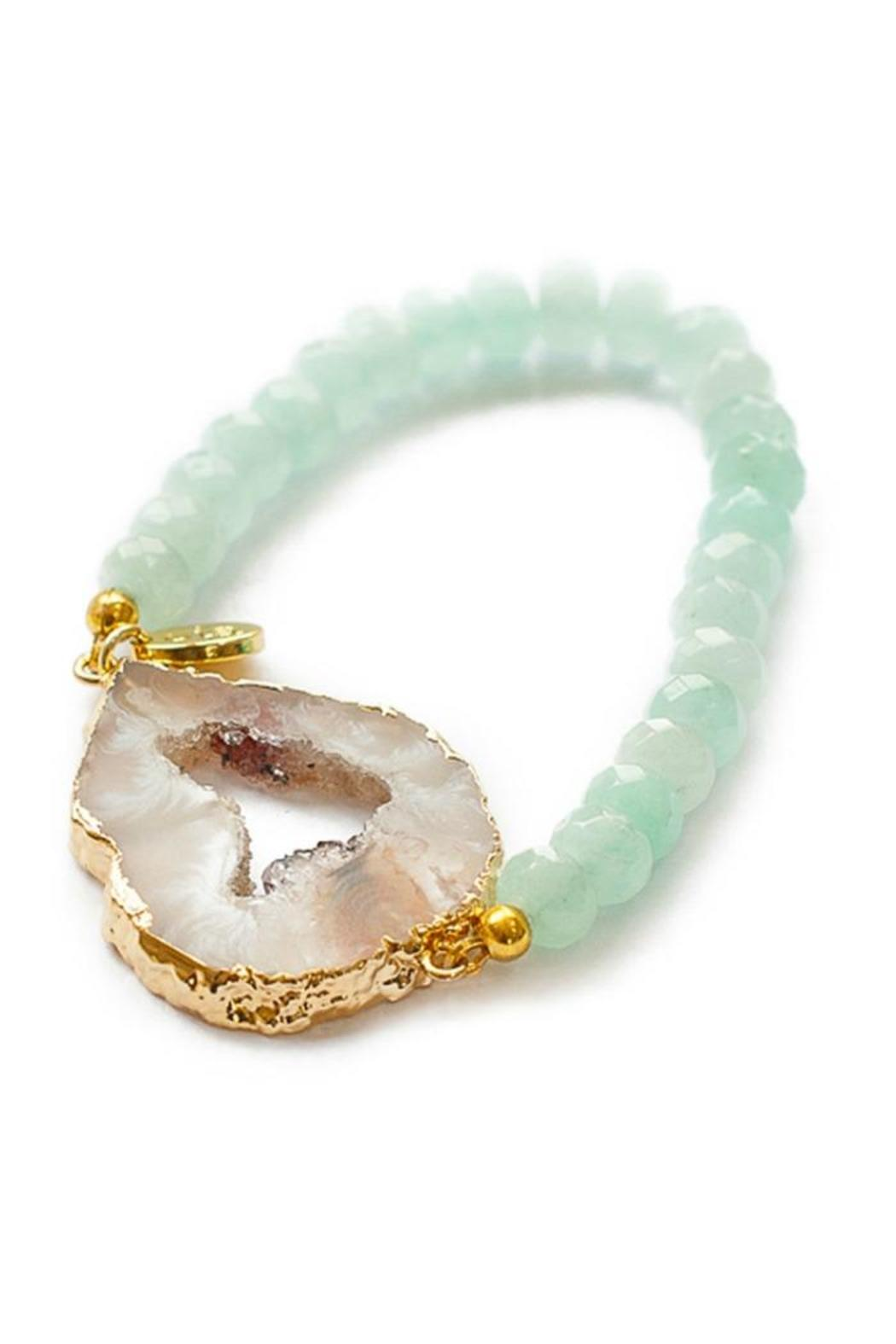 Gemma Collection Ite Geode Bracelet Front Cropped Image