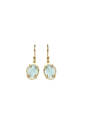 Gemma Collection Aquamarine Earrings - Product Mini Image