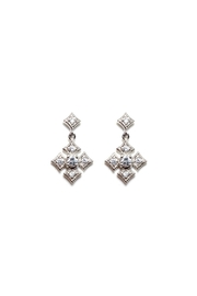Gemma Collection Byzantine Cross Earrings - Front cropped