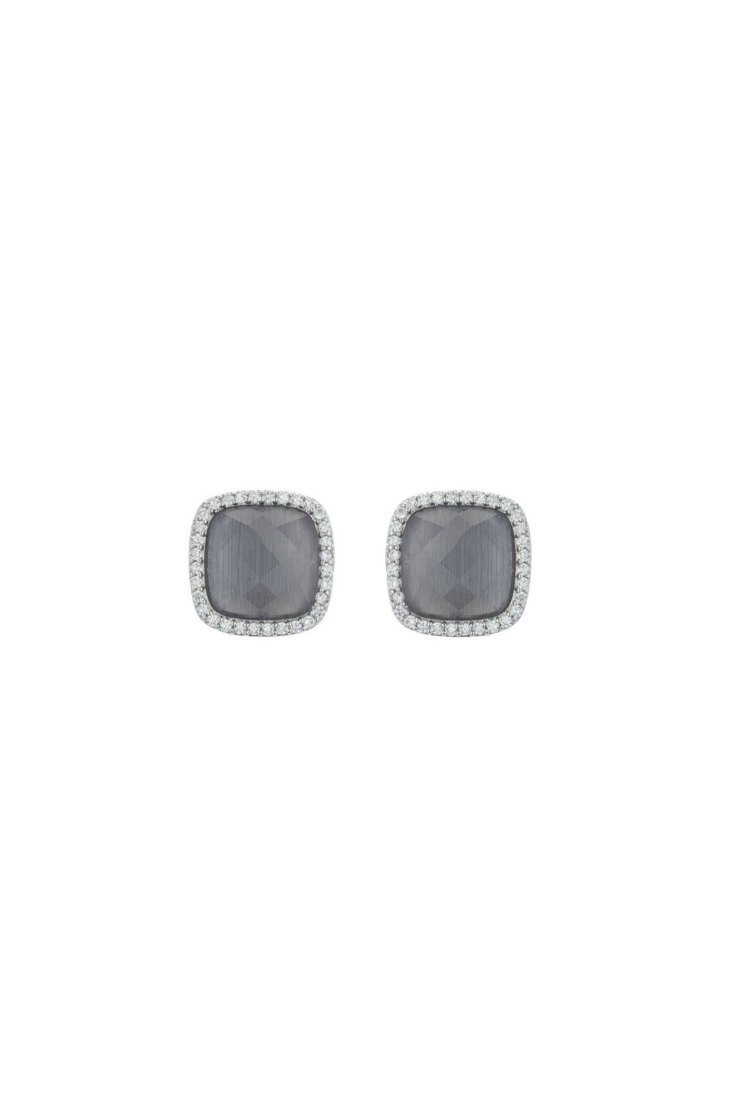 Gemma Collection Cats Eye Studs - Main Image