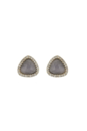 Gemma Collection Cats Eye Studs - Product Mini Image