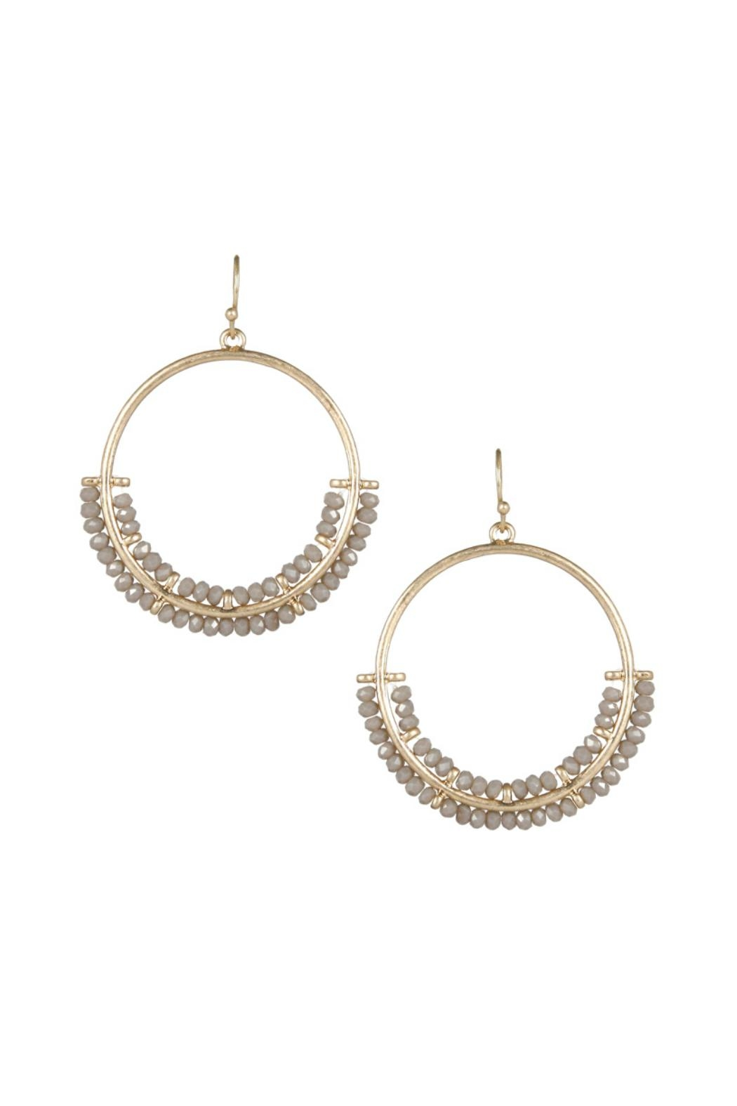 Gemma Collection Crystal Drop Earrings - Main Image