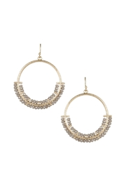 Gemma Collection Crystal Drop Earrings - Front cropped