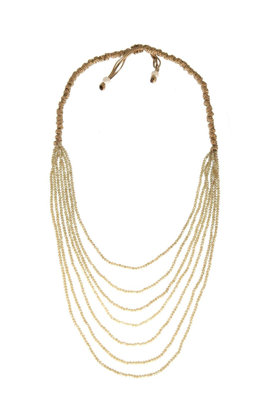 Gemma Collection Crystal Statement Necklace - Main Image