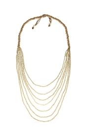 Gemma Collection Crystal Statement Necklace - Front cropped