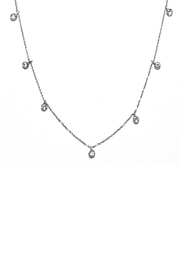 Gemma Collection Dangling Station Necklace - Product Mini Image