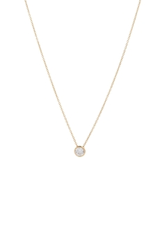 Shoptiques Product: Diamond Bezel Necklace