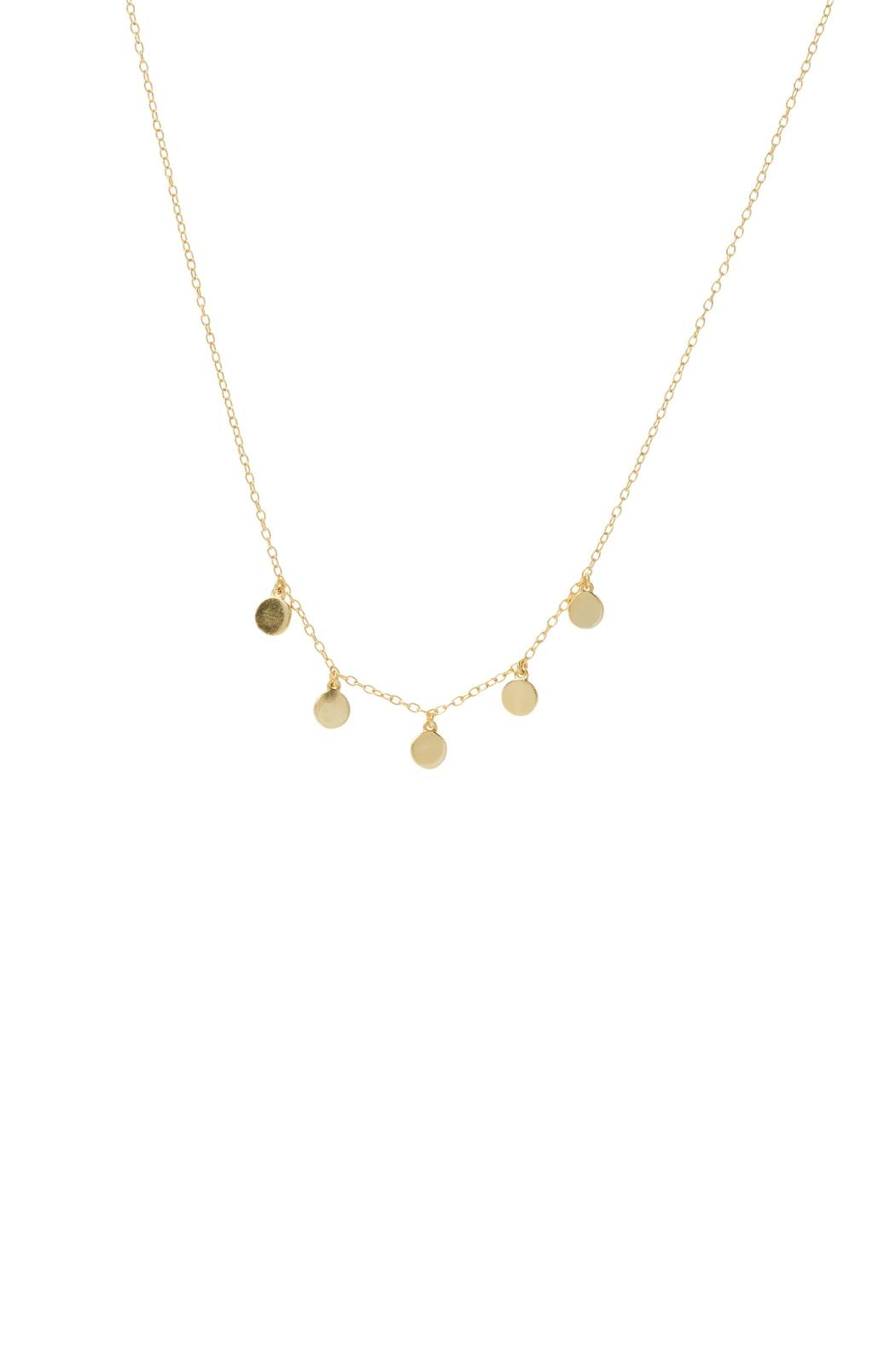 Gemma Collection Disc Station Necklace - Main Image