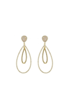 Gemma Collection Druzy Chandelier Earrings - Product List Image