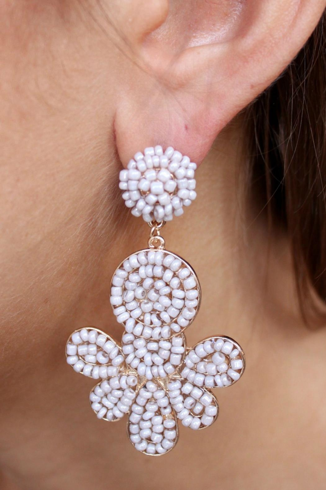 Gemma Collection Dupree Beaded Earrings - Main Image