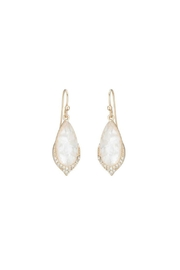 Gemma Collection Elegant Pave Earrings - Front cropped