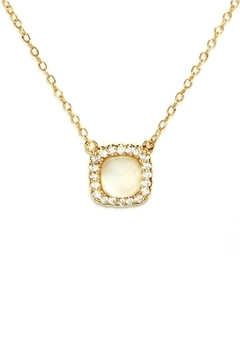 Gemma Collection Elegant Pearl Necklace - Product List Image