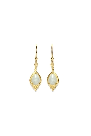 Gemma Collection Gemstone Drop Earrings - Product Mini Image