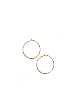 Shoptiques Product: Hammered Continuous Hoops
