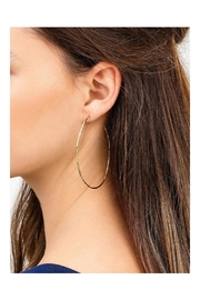 Gemma Collection Harbour Oval Hoops - Side cropped