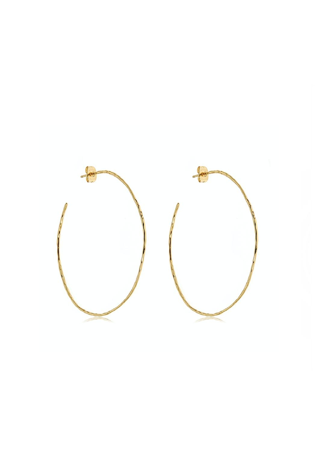 Gemma Collection Harbour Oval Hoops - Main Image
