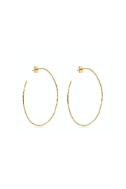 Gemma Collection Harbour Oval Hoops - Product Mini Image