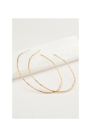 Gemma Collection Harbour Oval Hoops - Front full body