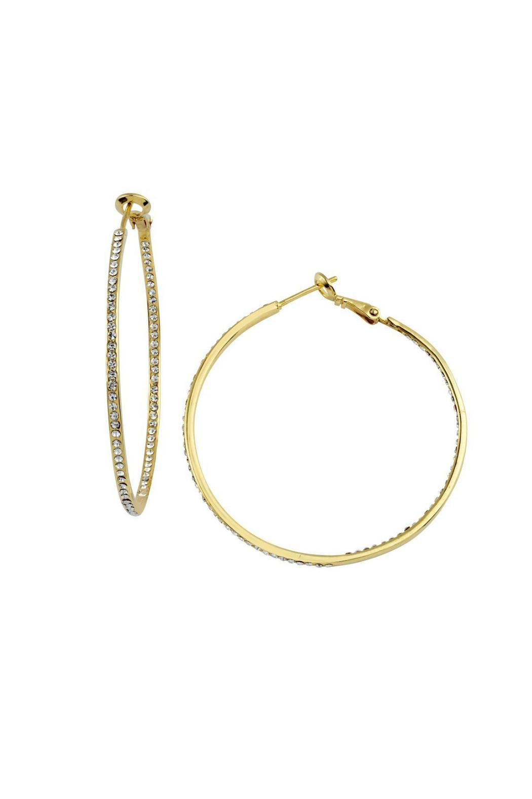Gemma Collection Inside Out Hoops - Main Image