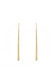 Gemma Collection Long Bar Earrings - Product Mini Image