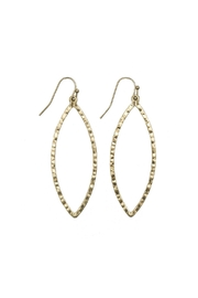 Gemma Collection Marquise Earrings - Front cropped