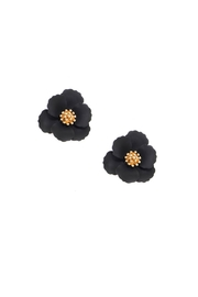 Gemma Collection Metal Flower Studs - Front cropped