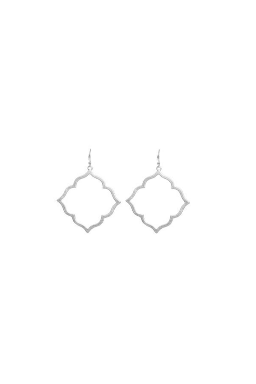 Gemma Collection Moroccan Earrings - Front Cropped Image