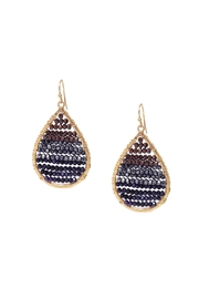 Gemma Collection Ombre Crystal Earrings - Product Mini Image
