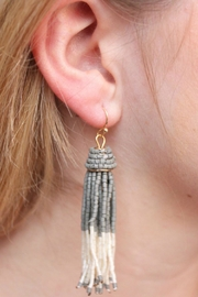 Gemma Collection Ombre Tassel Earrings - Product Mini Image