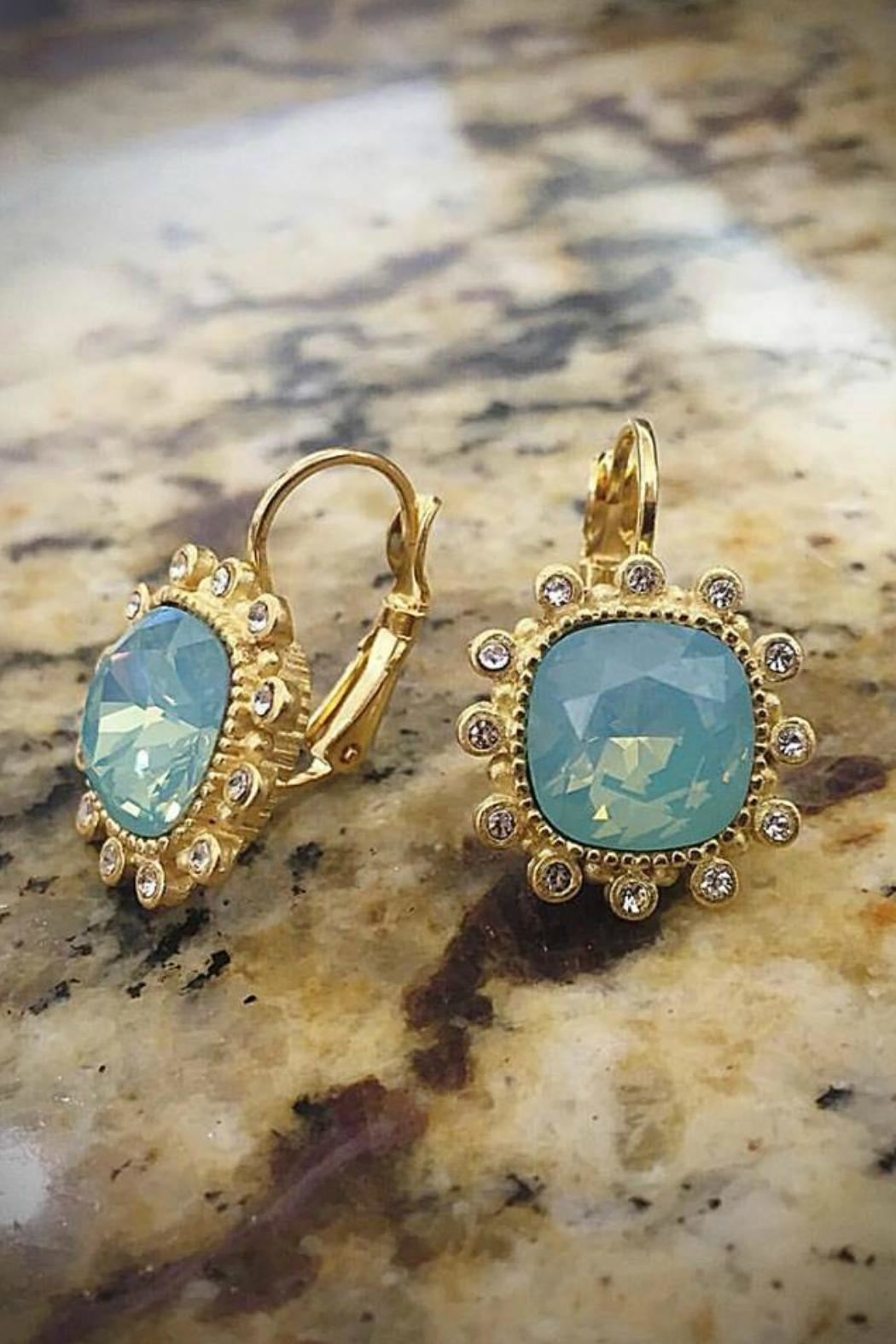 Gemma Collection Pacific Opal Earrings - Main Image